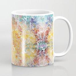 Mandala Elephant Tie dye Coffee Mug