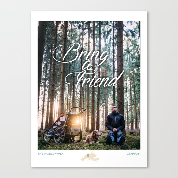 Bring a Friend Canvas Print