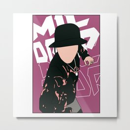MIC DROP JHOPE Metal Print