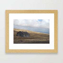 The Barn Framed Art Print