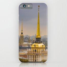 Saint Petersburg Admiralty iPhone Case
