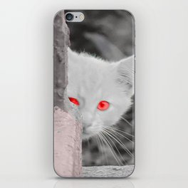 Kitty in the City iPhone Skin