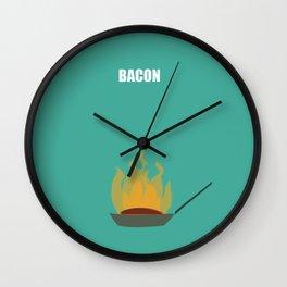 Bacon! Wall Clock