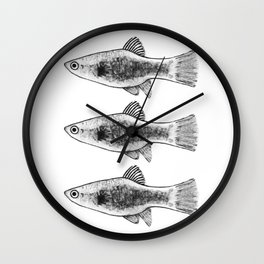 Babs I Wall Clock