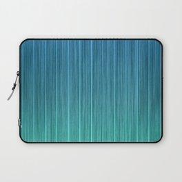 Tropical Island Aqua Blue Beach Hut Laptop Sleeve