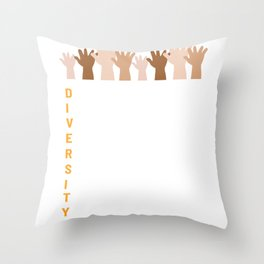 Diversity Culture Gay or Transgender Gift Throw Pillow