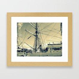Maritime Spiderweb Framed Art Print