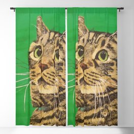 Cat that longs to be a Tiger! Blackout Curtain
