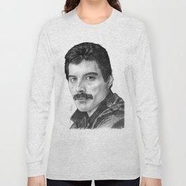 Freddie Portrait Long Sleeve T-shirt