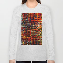 Colorful Collage Long Sleeve T-shirt