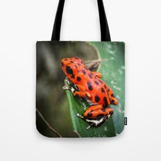 Red Frog Tote Bag