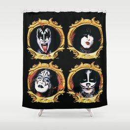 Kiss Psycho Circus Shower Curtain