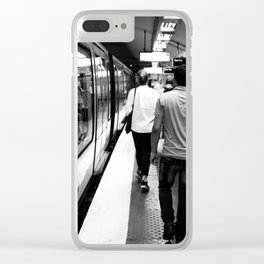 Subway - Charles de Gaulle Clear iPhone Case