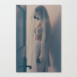 La philosophie dans le boudoir Canvas Print