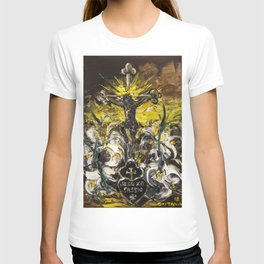 Jesu XPI PASSIO. The heart of Gema T-shirt