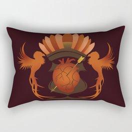 Quetzalli's Heart Rectangular Pillow
