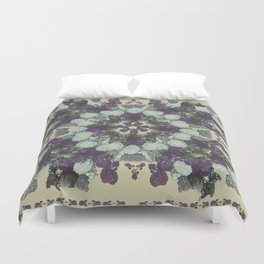 Botanical Kaleidoscope Duvet Cover
