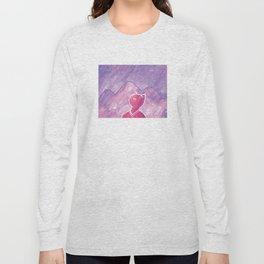 Mountain Cat Long Sleeve T-shirt