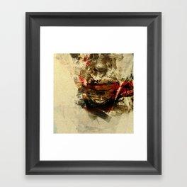 The Human Race Framed Art Print
