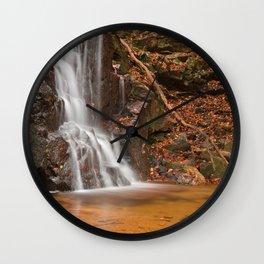 Avalon Hook Falls Wall Clock