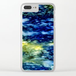 Twilight Cenote One Clear iPhone Case