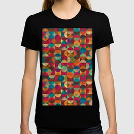 Energy Deco Retro Pattern T-shirt