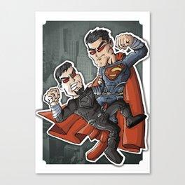 Super e Zod Canvas Print