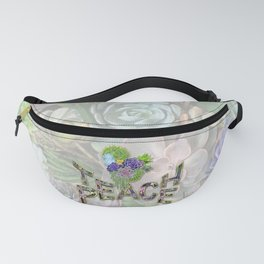 Teach Peace with the Power of Words Fanny Pack