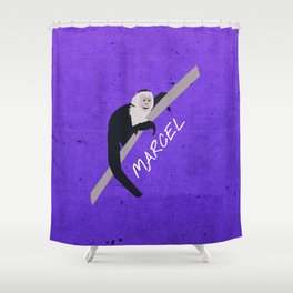 Friends 20th - Marcel Shower Curtain