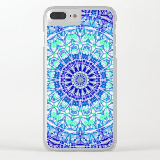 Tribal Mandala G389 Clear iPhone Case