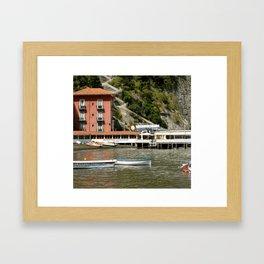 Grand Marina Framed Art Print