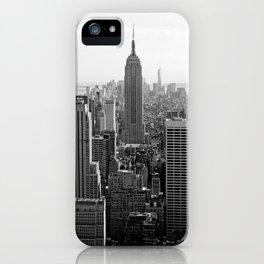 new york city ... manhattan view I iPhone Case