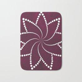 Zen Floral Mandala Bath Mat