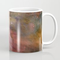 nasa Mugs featuring Nebula star Orion galaxy hipster NASA space and stars photo by iGallery