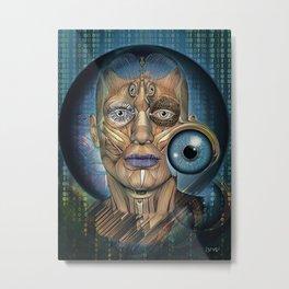 Eye Settings Metal Print