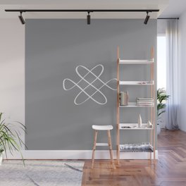 Infinity Knot - Minimal FS - by Friztin Wall Mural