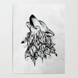 Wolves Posters For Any Decor Style Society6
