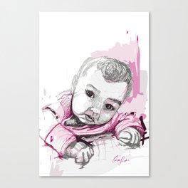 Digital Drawing #18 Canvas Print