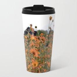 Flowers! Orange! Nature! Travel Mug