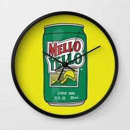 Mello Yello Wall Clock