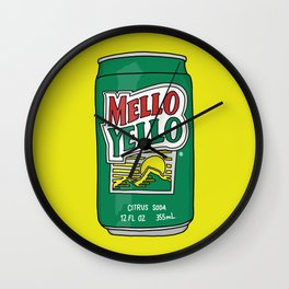Mello Yello Wall Clock