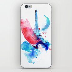 Pigeons of Paris iPhone & iPod Skin