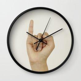 Evil Gift For Cheating X Boyfriend Wall Clock