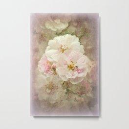 Nostalgic Blossoms Metal Print