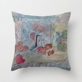Phantasie Architektur Throw Pillow