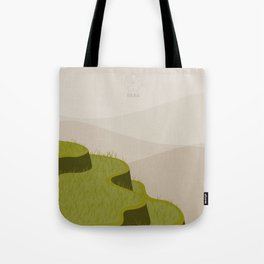 At the Top of the Terrace Tote Bag