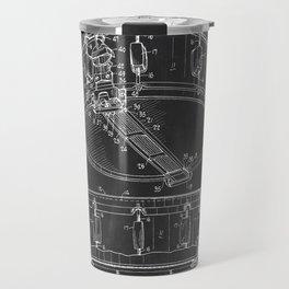 Snare Drum Patent Travel Mug