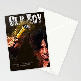Oldboy - alternative art poster Stationery Cards