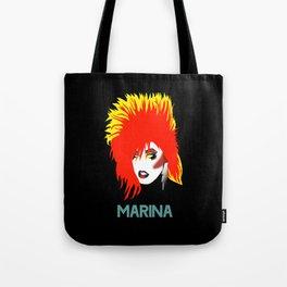 Marina Mac MINIMALISTIC Black Tote Bag