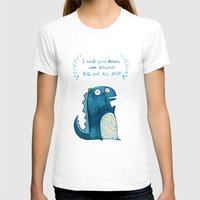 postcard T-shirts featuring Postcard for your enemy by KAA illustration